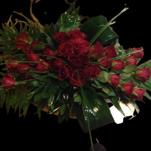 επιτραπεζια συνθεση με τριανυαφυλλα