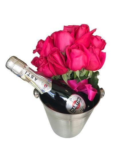 pink rose asti martini